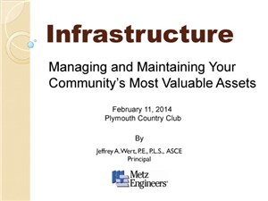 Managing and Maintaining Your Community's Assets